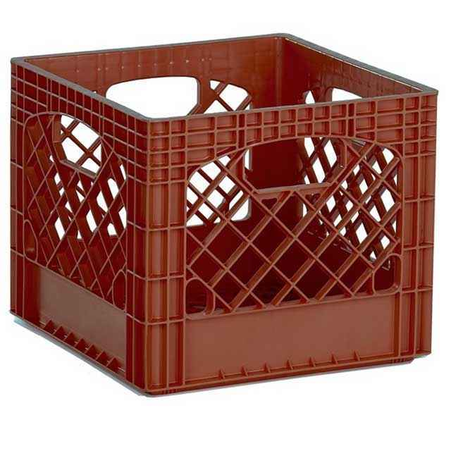 Brown Crate